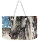 Colorful Arabian Horse  Weekender Tote Bag