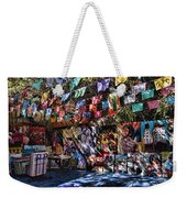 Colorful Art Store In Mexico Weekender Tote Bag