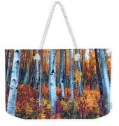 Colorful Aspens Weekender Tote Bag