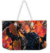 Colorful Autumn Grapes Weekender Tote Bag