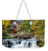 Colorful Autumn Grist Mill Weekender Tote Bag