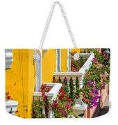 Colorful Balconies Weekender Tote Bag