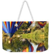 Colorful Balloons Fill The Frame Weekender Tote Bag