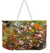 Colorful Beach Sea Grapes Weekender Tote Bag