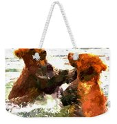 Colorful Bears Weekender Tote Bag