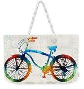 Colorful Bike Art - Free Spirit - By Sharon Cummings Weekender Tote Bag