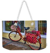 Colorful Bike Weekender Tote Bag