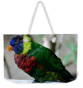 Colorful Bird  Weekender Tote Bag