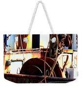 Colorful Boat Weekender Tote Bag