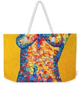 Colorful Bodyscape 1 Weekender Tote Bag
