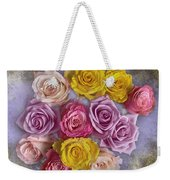 Colorful Bouquet Of Roses Weekender Tote Bag