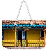 Colorful Building Weekender Tote Bag