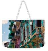 Colorful Buildings In Havana Weekender Tote Bag