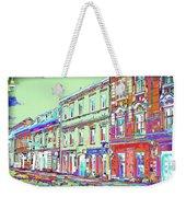 Colorful Buildings Weekender Tote Bag
