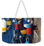 Colorful Buoys Weekender Tote Bag
