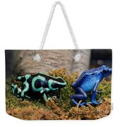 Colorful But Deadly Poison Dart Frogs Weekender Tote Bag