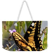 Colorful Butterfly Square Weekender Tote Bag
