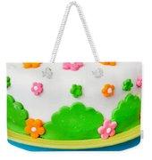 Colorful Cake Weekender Tote Bag