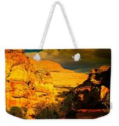 Colorful Capital Reef Weekender Tote Bag by Jeff Swan