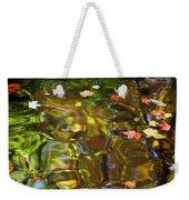 Colorful Carmel Weekender Tote Bag