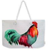 Colorful Chicken Weekender Tote Bag