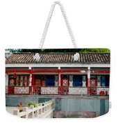 Colorful China Weekender Tote Bag