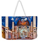 Colorful Church Weekender Tote Bag