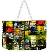Colorful City Scene Weekender Tote Bag