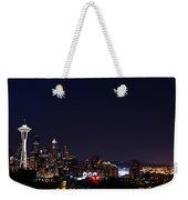 Colorful Citylights Weekender Tote Bag