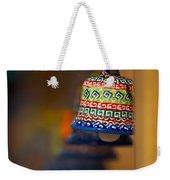 Colorful Clay Bells Weekender Tote Bag