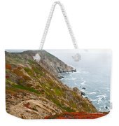 Colorful Cliffs At Point Reyes Weekender Tote Bag