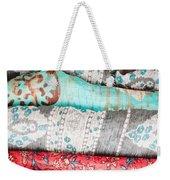 Colorful Cloths Weekender Tote Bag