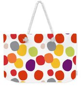 Colorful Confetti  Weekender Tote Bag