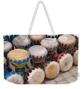 Colorful Congas Weekender Tote Bag