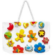 Colorful Cookies Weekender Tote Bag