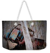 Colorful Crash Weekender Tote Bag