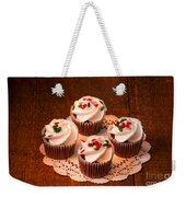 Colorful Cupcakes Weekender Tote Bag