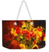 Colorful Cut Flowers - V2 Weekender Tote Bag
