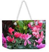 Colorful Cyclamen Weekender Tote Bag