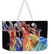 Colorful Dancers Weekender Tote Bag
