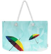 Colorful Day Weekender Tote Bag by Mark Ashkenazi