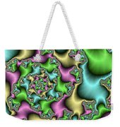 Colorful Depth Weekender Tote Bag