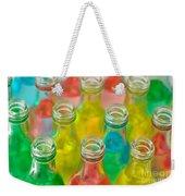 Colorful Drink Bottles Weekender Tote Bag