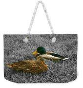 Colorful Ducks Weekender Tote Bag