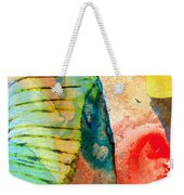 Colorful Elephant Art By Sharon Cummings Weekender Tote Bag by Sharon Cummings