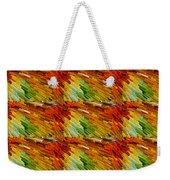Colorful Extrude 2 Weekender Tote Bag