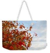 Colorful Fall Leaves Weekender Tote Bag