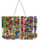 Colorful Fishing Floats Weekender Tote Bag