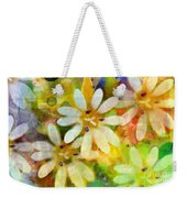 Colorful Floral Abstract I Weekender Tote Bag