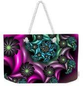 Colorful Fractal Weekender Tote Bag